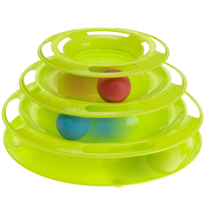 Интерактивная игрушка пластик Ferplast Twister для кошек