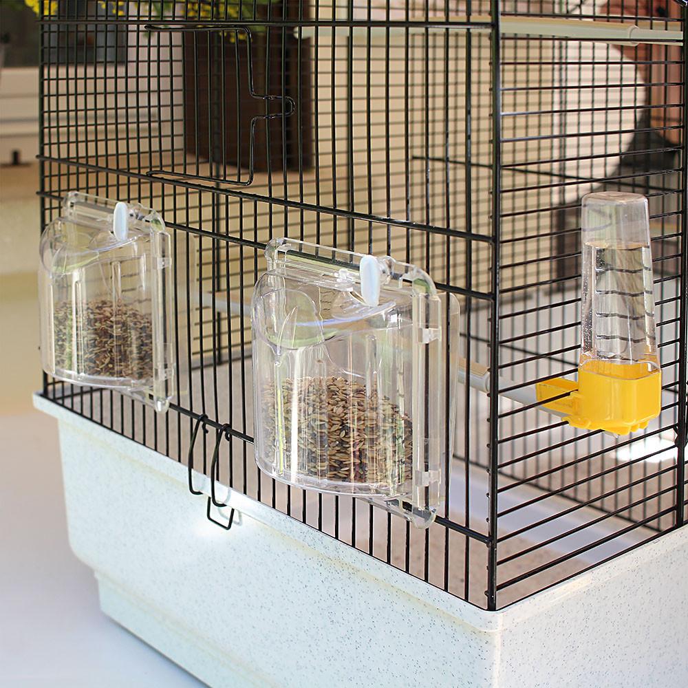 Ferplast (Ферпласт) Canto - Клетка с разделительной панелью для канареек и других мелких экзотических птиц - Фото 5