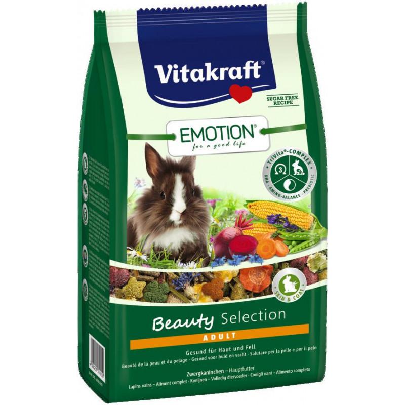 Корм VITACRAFT EMOTION BEAUTY для кроликов