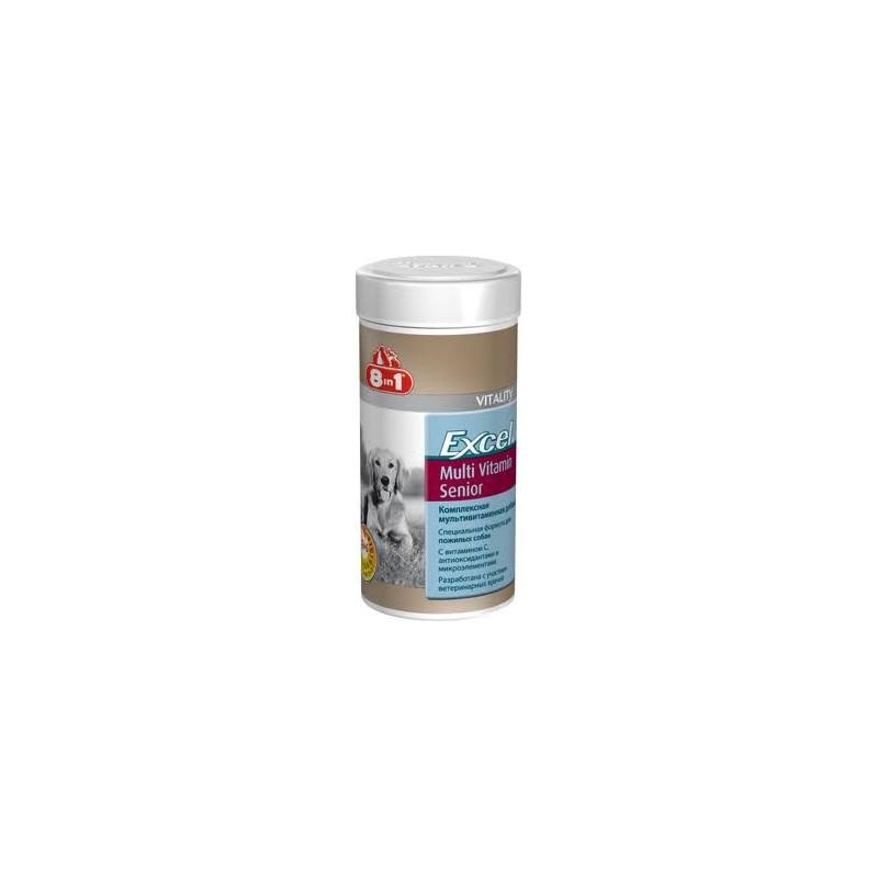 8in1 Excel MultiVitamin Senior - Мультивитаминный комплекс для пожилых собак
