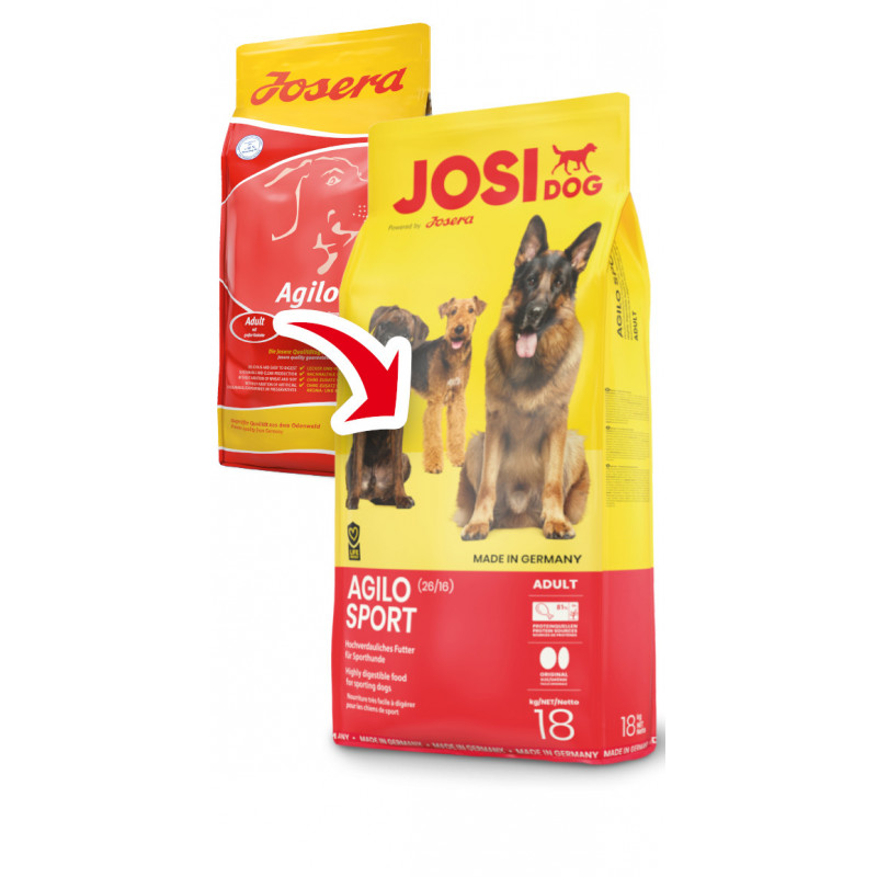 JosiDog (ЙозиДог) by Josera Agilo Sport (26/16). Сухой корм для спортивных собак