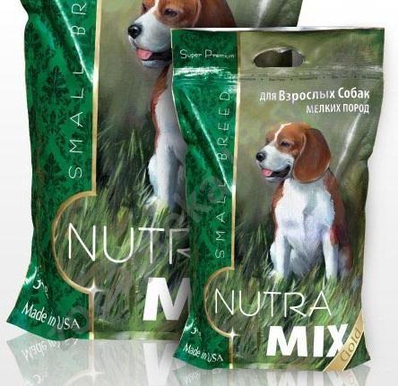 Nutra Mix Gold (Нутра Микс Голд) Small Breed Adult - Сухой крм с курицей для взрослых собак мелких пород