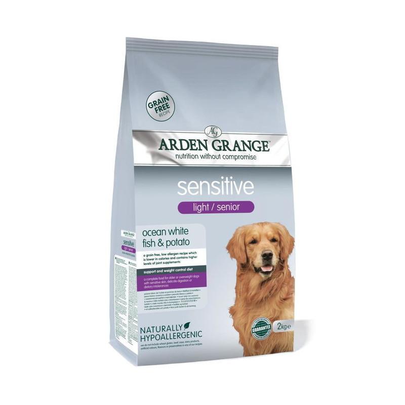 Arden Grange Sensitive light/senior  -  Корм сухой для пожилых собак и собак с чувствительным пищеварением