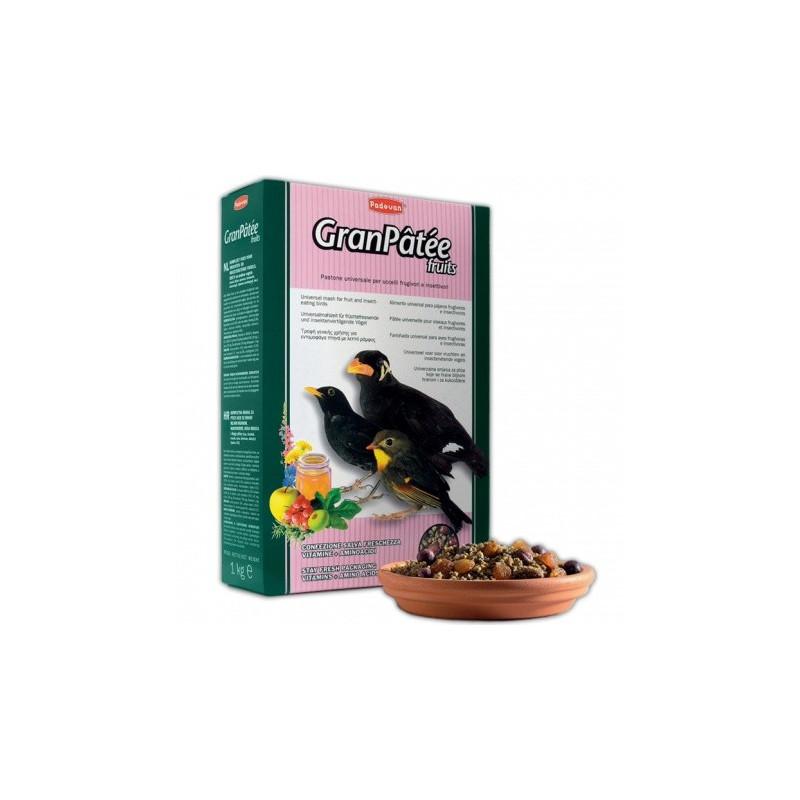 Granpatee fruits основной корм для плодоядных и насекомоядных птиц