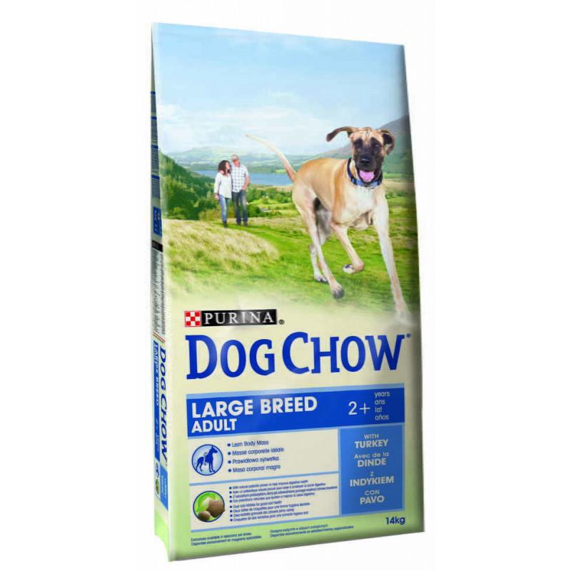 Dog Chow (Дог Чау) Large Breed Сухой корм для взрослых собак крупных пород