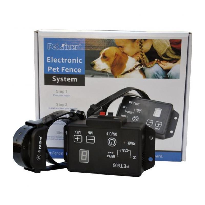 Petrainer (ПетТрейнер) Электронный ошейник для собак PET803 (электронный забор)