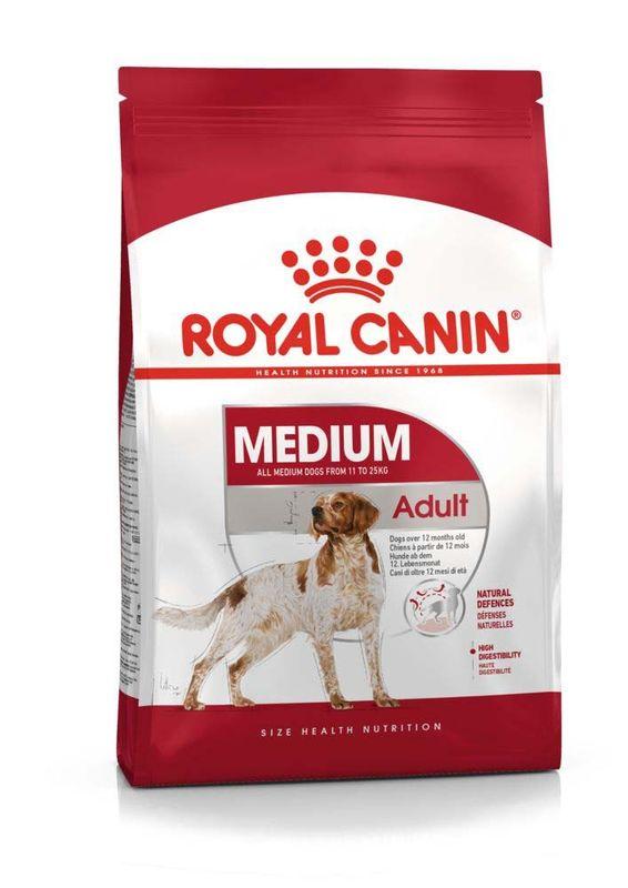 Royal Canin (Роял Канин) Medium Adult - Корм сбалансированный для взрослых собак средних пород