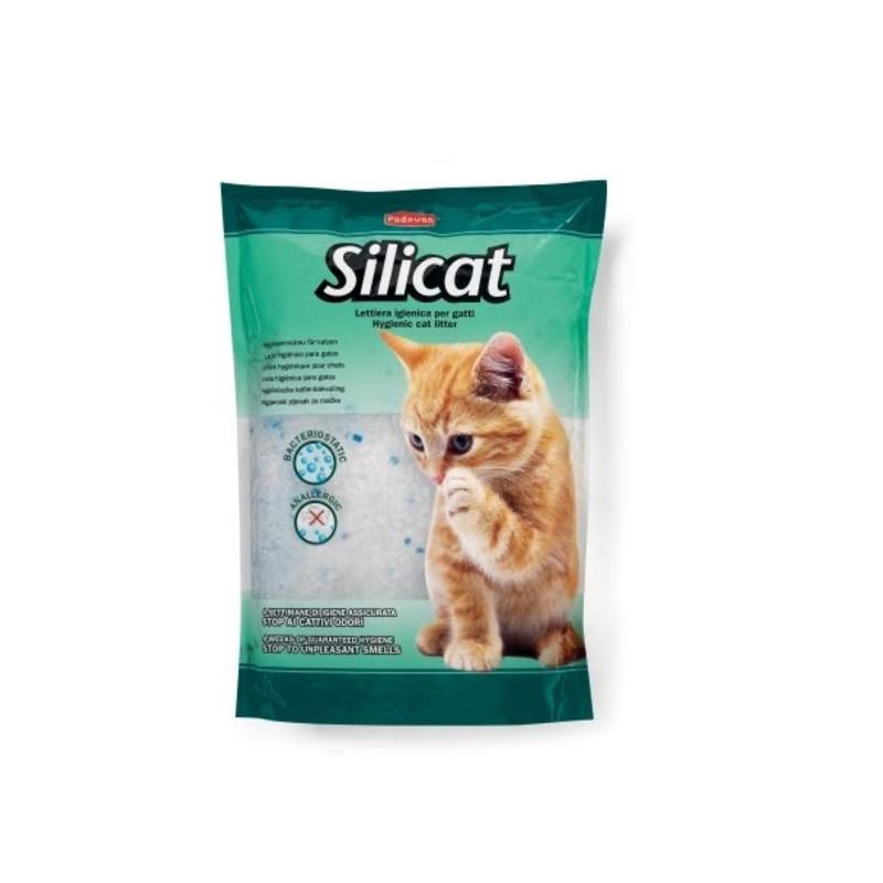 Padovan (Падован) SILICAT. Наполнитель силикагелевый для кошачьих туалетов