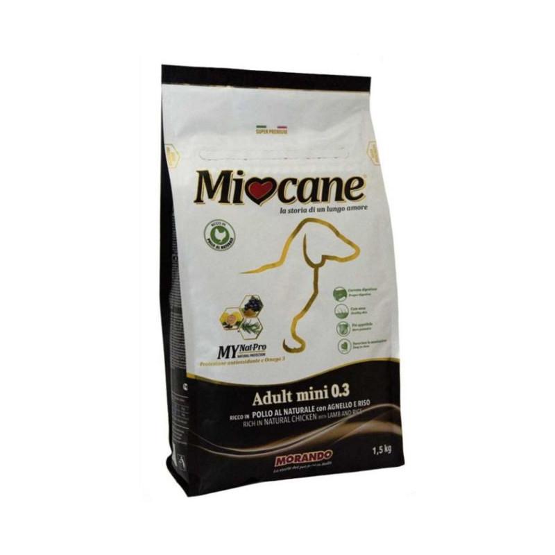 Morando (Морандо) Miocane Adult mini Lamb & Rice 0 - 3 - Корм сухой для взрослых собак мелких пород с ягненком и рисом