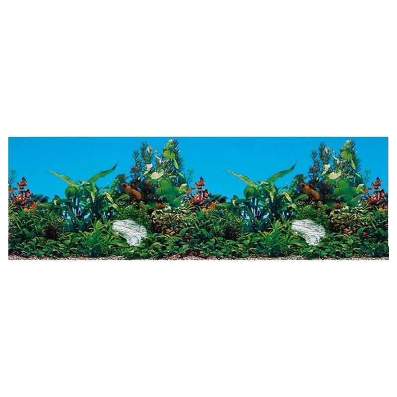 Trixie (Трикси) Decoration Aquarium Rear Wall - Фон для декора аквариума двусторонний, 120x50 см