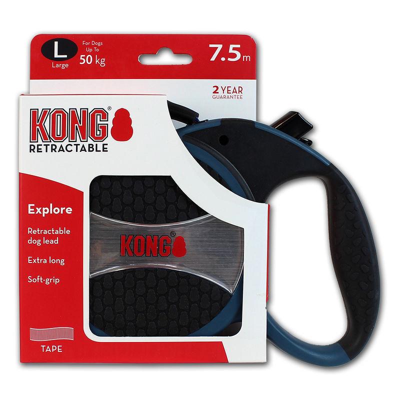 Поводок-рулетка KONG Explorer L для больших пород собак