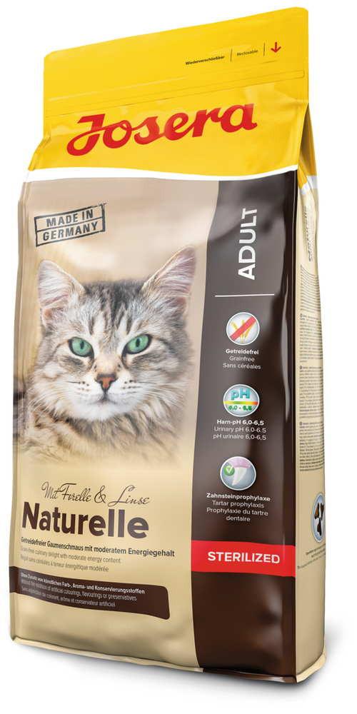 Josera (Йозера) Naturelle Sterilized - Сухой корм с птицей для стерилизованных кошек - Фото 2