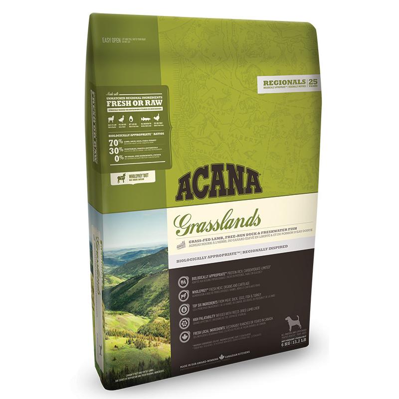 Acana Grasslands Dog беззерновой корм