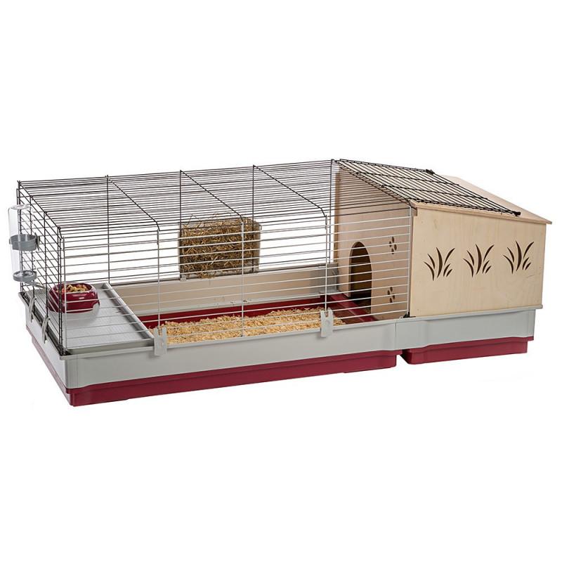 Клетка для кроликов Ferplast (Ферпласт) Krolik 140 Plus