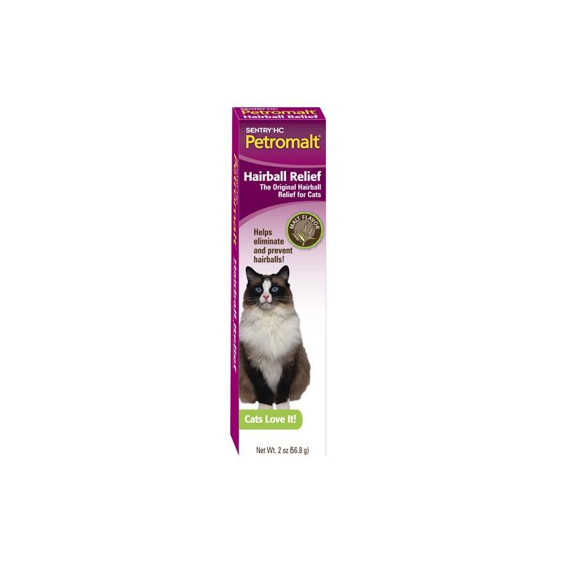 SENTRY Petromalt (Сентри Петромальт) Hairball Relief паста для кошек со вкусом солода