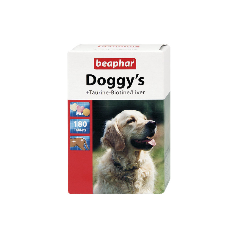 Таблетки Beaphar Doggys Mix (Taurin+Protein+Liver)