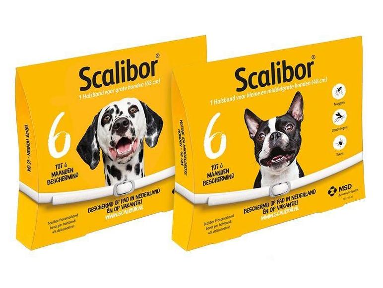 Scalibor (Скалибор) by MSD Animal Health - Противопаразитарный ошейник от блох и клещей для собак