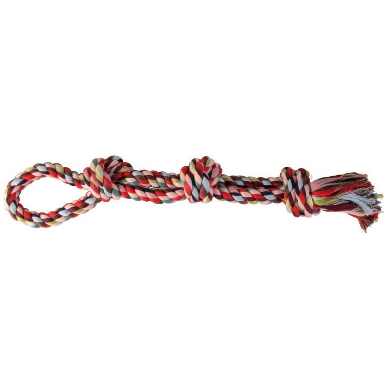 Trixie (Трикси) Веревка узловая с петлей Denta Fun (игровой канат)