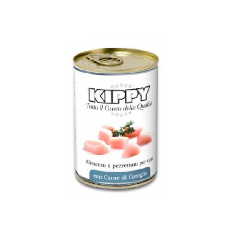 Kippy (Киппи) Dog консервы для собак с кусочками мяса кролика