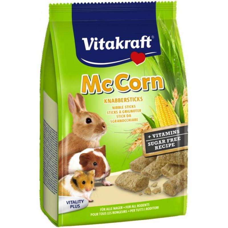 Лакомство VITACRAFT McCORN LIGHT для всех видов грызунов со злаками и кукурузой
