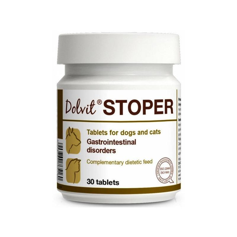 Dolfos (Долфос) Долвит Стопер - комплекс веществ для лечения расстройств пищеварительной системы у кошек и собак