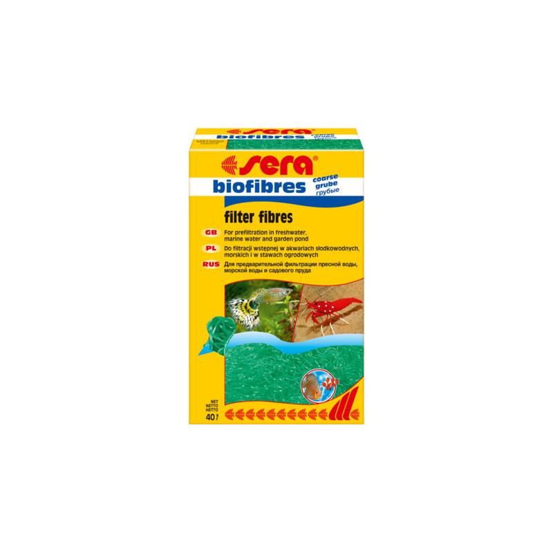 Наполнитель SERA BIOFIBRES FINE для фильтров для грубой очистки воды