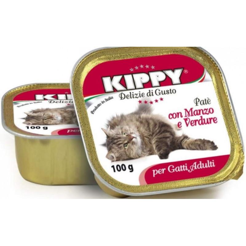 Kippy (Киппи) Cat - Консервы с лососем для кошек