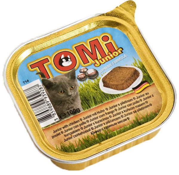 TOMi (Томи) junior - Паштет с куринным мясом для котят