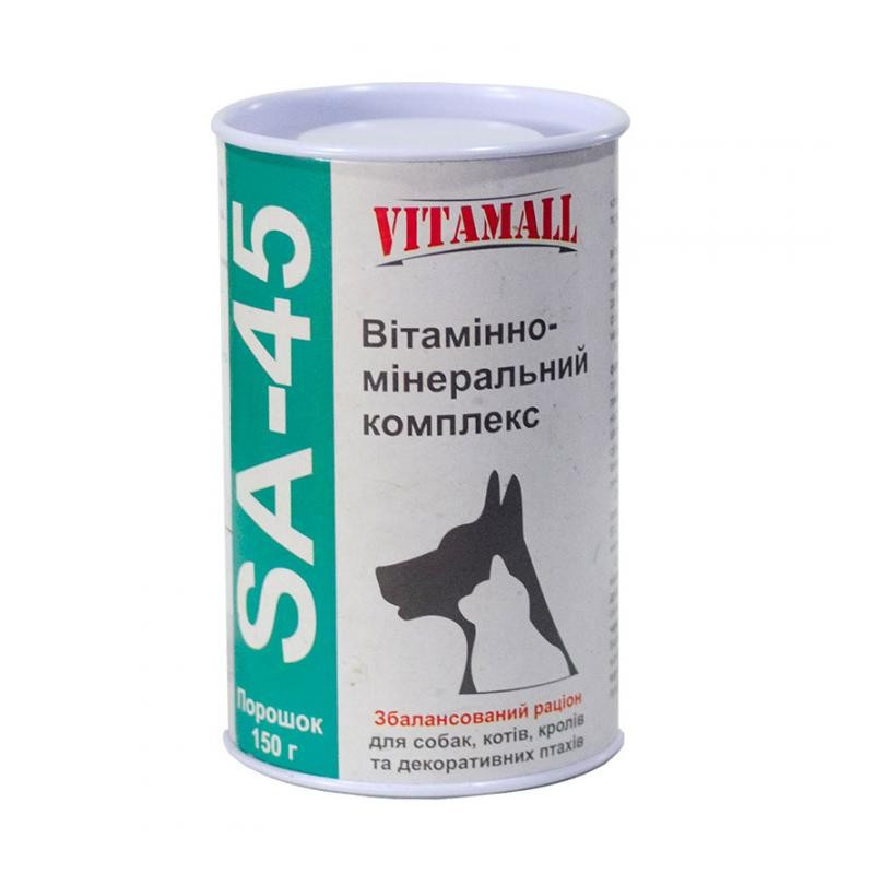 VitamAll (Витамол) SA-45 - сбалансированная добавка из смеси витаминов и минералов
