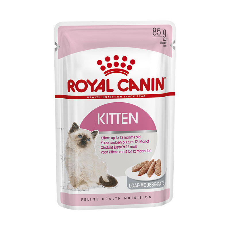 Royal Canin (Роял Канин) KITTEN LOAF. Консервированый корм паштет для котят
