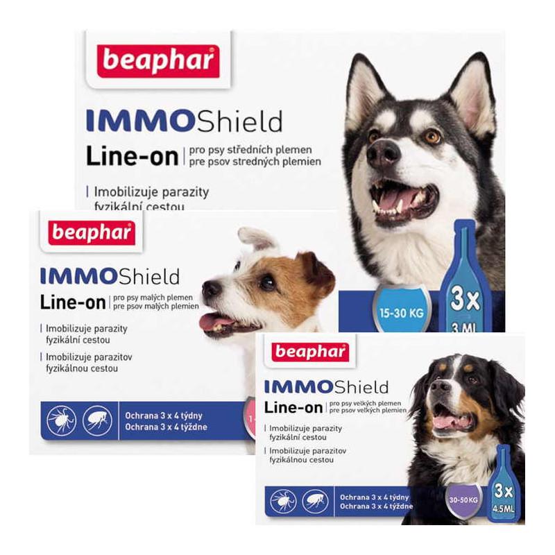 Beaphar (Биафар) IMMO Shield. Противопаразитарные капли для собак с диметиконом