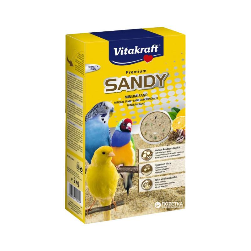 Песок VITACRAFT SANDY для птиц с минералами
