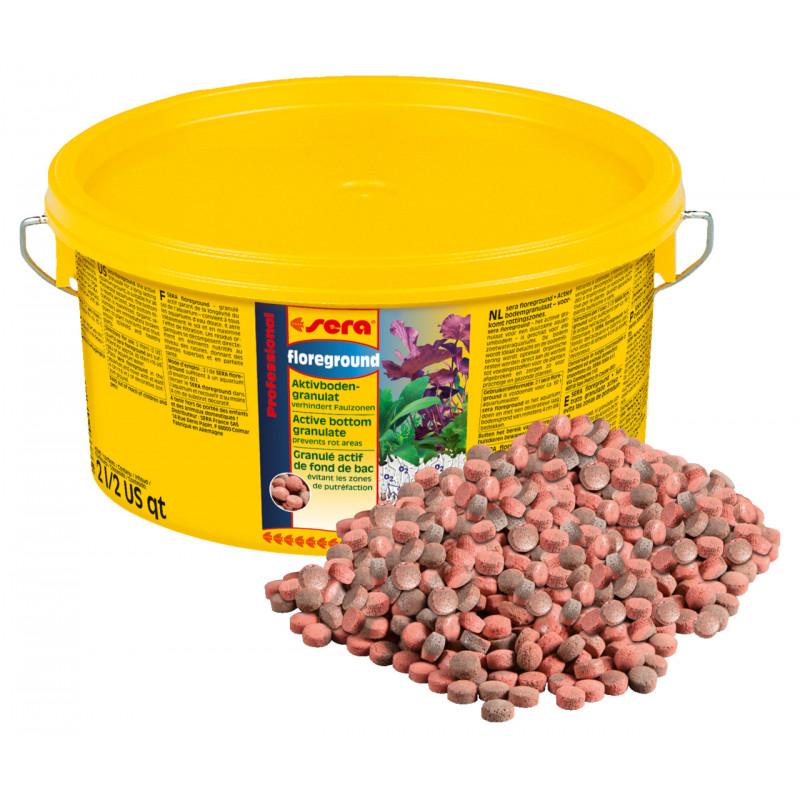 Дренажный грунт SERA PROFESSIONAL FLOREGROUND для аквариумных растений
