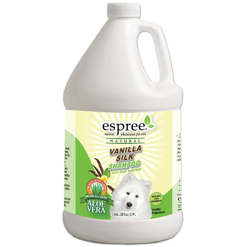 Шампунь ESPREE VANILLA SILK для собак с протеинами шёлка