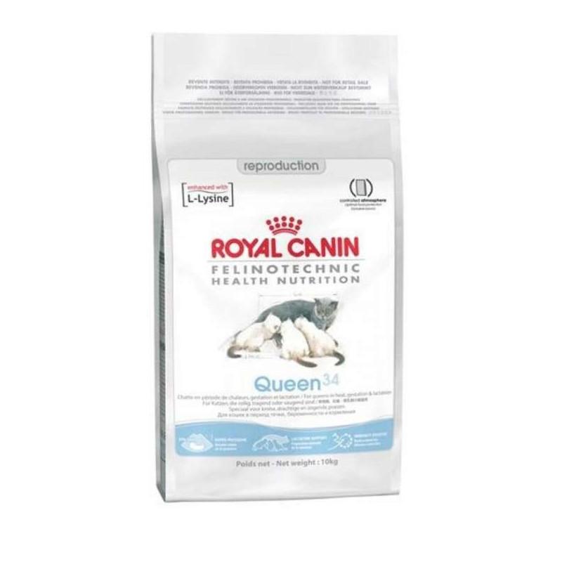 Royal Canin QUEEN 34 корм для кошек во время беременности и лактации