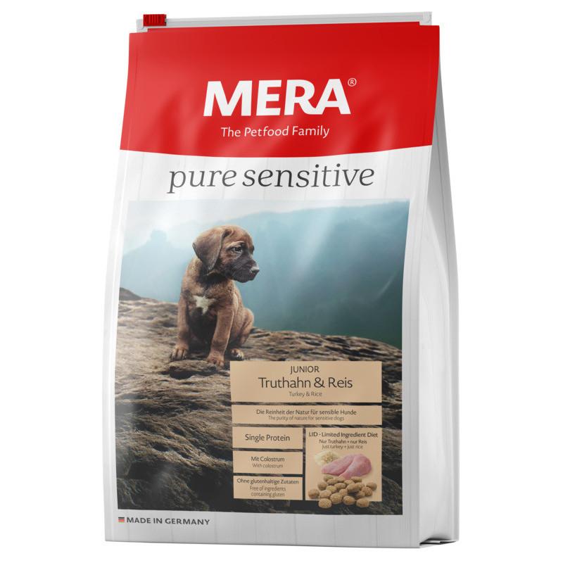 Сухой корм Mera Dog (Мерадог) Пьюр Джуниор Индейка & Рис для щенков