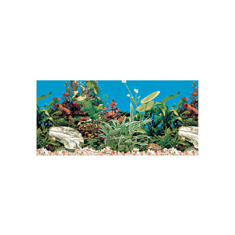 Trixie (Трикси) Decoration Aquarium Rear Wall - Фон для декора аквариума двусторонний, 80x40 см