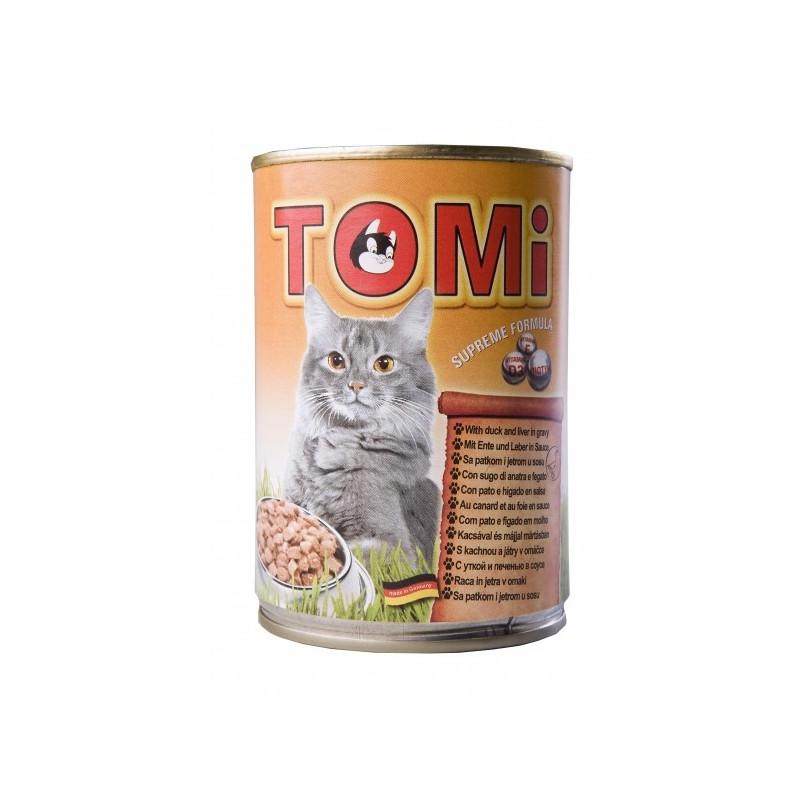 TOMi (Томи) duck & liver - Консервы с уткой и печенью для котов
