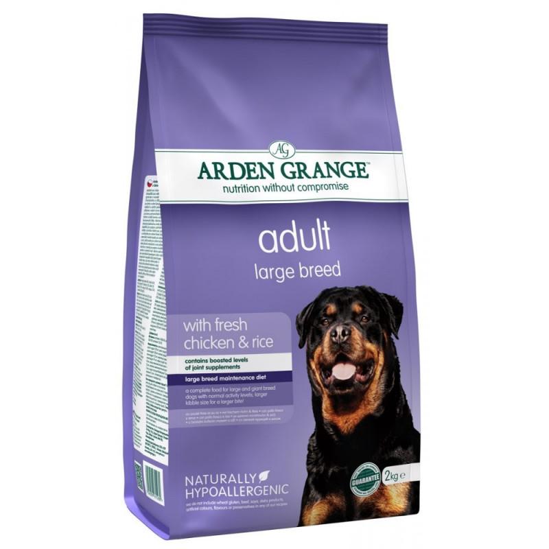 Arden Grange Adult Large Breed Корм для взрослых собак крупных пород с курицей и рисом