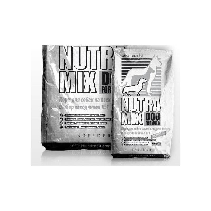 Nutra Mix (Нутра Микс) Dog Breeder - Сухой корм с курицей для активных собак и щенков