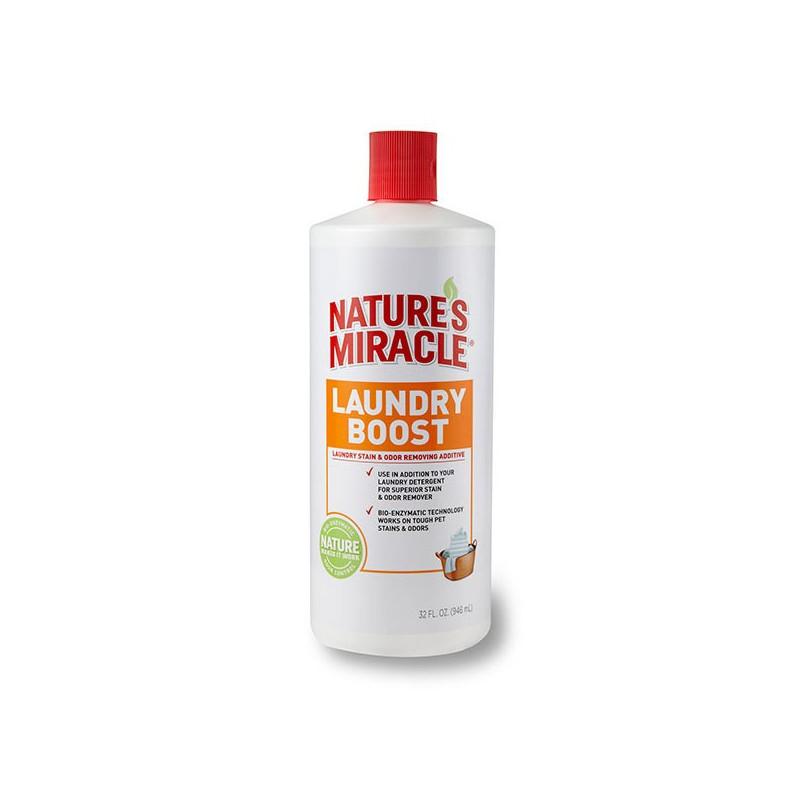 Nature's Miracle (Нейчерс Миракл) Laundry Boost Уничтожитель пятен и запахов во время стирки