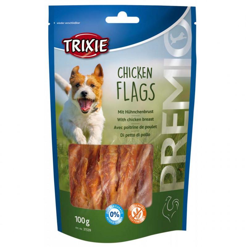 Лакомство TRIXIE PREMIO Chicken Flags для собак куриная грудка для собак