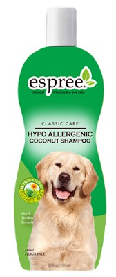 """ESPREE (Эспри) Hypo-Allergenic Coconut Shampoo - Гипоаллергенный кокосовый шампунь, """"без слез"""" для собак - Фото 2"""