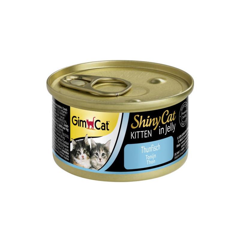 GimCat (ДжимКэт) ShinyCat Kitten - Консервированный корм с тунцом для котят