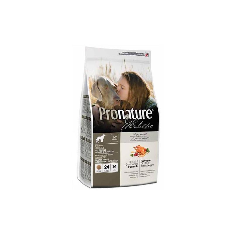 Pronature Holistic ИНДЕЙКА С КЛЮКВОЙ для взрослых собак всех пород