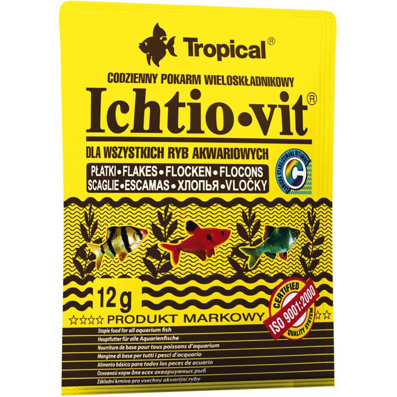 Корм TROPICAL IHTIO-VIT хлопья для всех видов рыб