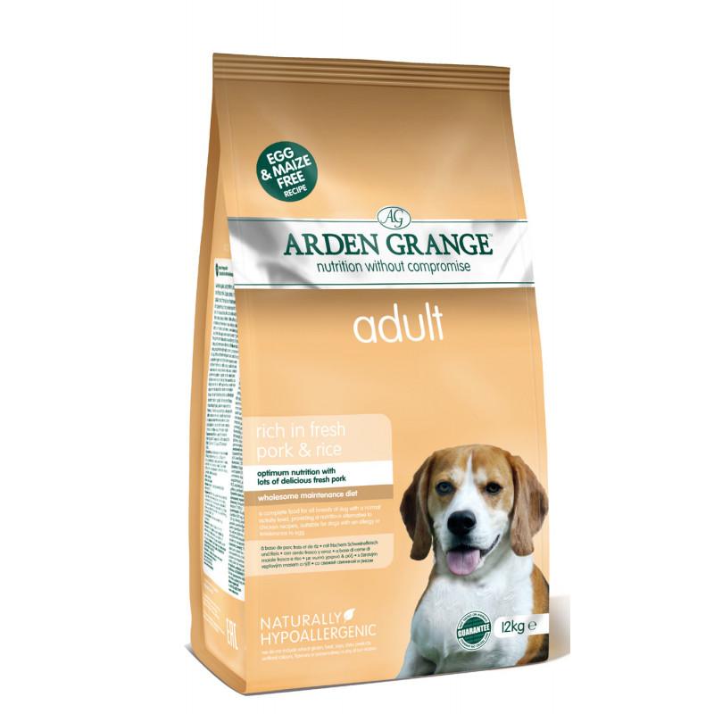 Arden Grange (Арден Грендж) Adult Dog Pork со свининой и рисом