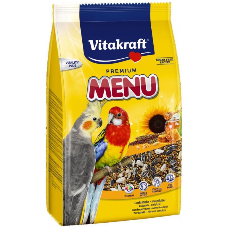 Корм VITACRAFT MENU для средних попугаев
