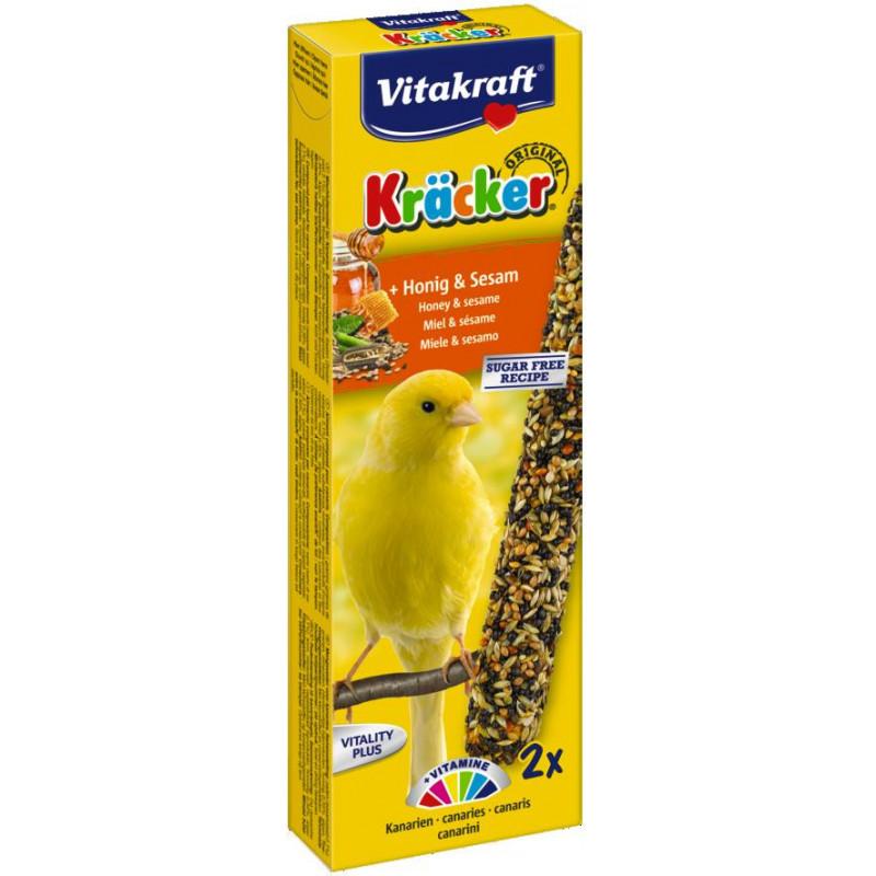 Крекер VITACRAFT для канареек с мёдом и кунжутом