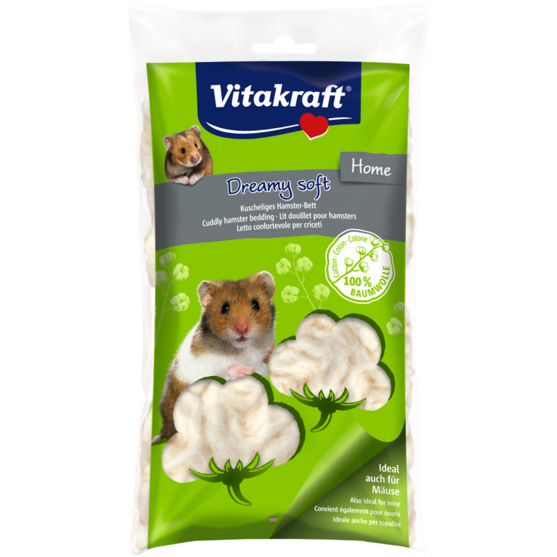 Хлопок VITACRAFT DREAMY SOFT для хомячков